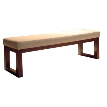 Long banc pour les meubles d'hôtel