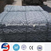 Red de alambre galvanizado de alta calidad para muro de piedra (ISO 9001)