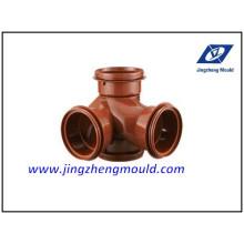 Tous les types de garnitures en plastique moule / moule de montage en PVC Chine fabricant