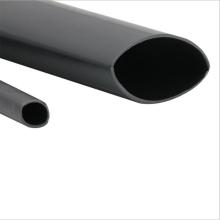 Medium wall heat shrinkable tubing with hot melt adhesive