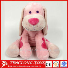 valentine extra soft short plush red heart dog toy