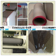 PTFE coated fibergalss mesh teflon conveyor belt