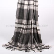 домашнего использования шотландка шерстяное одеяло