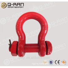 US type drop forged drop forged screw pin bow shackle 213