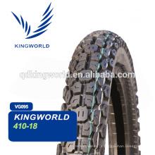 Pneus de motocicleta e câmaras de ar, pneu de motocicleta e tubo 4.10-18 escolha de qualidade
