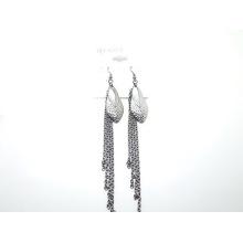 Длинная цепь серьги Корея дизайн новые моды ювелирных изделий