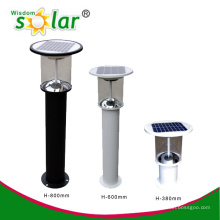 Luces de jardín solares CE y patente, PIR movimiento jardín luces led, luces de jardín de sensor