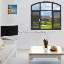 Feelingtop Thermal Break Aluminium Swing Windows avec moustiquaire
