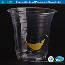 Desechable promocional taza de plástico al por mayor