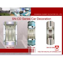Cabine d'ascenseur d'observation avec l'auvent d'émail (SN-CD-207)