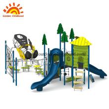Структура оборудования детской площадки для скалолазания
