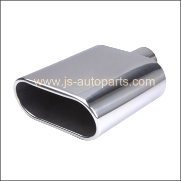WELD ON STYLE SQUARE ROLLED IN STAINLESS STEEL EXHAUST TIPS