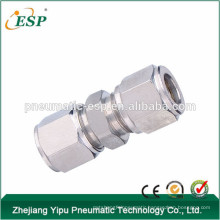 pneumatic mental fittings Manufacturing union straight fittings pipie joint tube