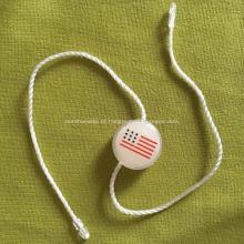 Tags de vedação de plástico de camada de PVC para vestuário