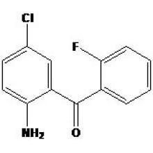 2-Amino-5-Cloro-2'-Fluorobenzofenona N� CAS: 784-38-3