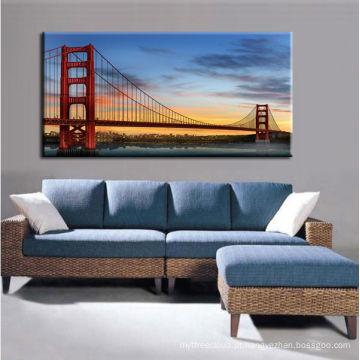 Arte moderna impermeável da lona da ponte
