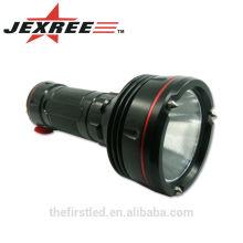 Led Flashlight Torch imperméable à l'eau 100M 2500LM 2x26650 batteries Cree XML2-U2