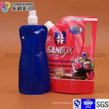 Stehen Sie Liquid Spout Bag mit Auslauf