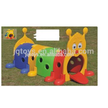 plastic cartoon train tunnel for kids