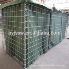 Pared militar de bajo costo hesco barrier mil 1 para partion