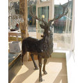 латунь статуя оленя олень