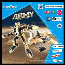 Специальное предложение! 2015 Горячие продажи военных освещают строительный блок с пластмассовыми игрушками армии