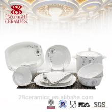 Artículos de porcelana de hueso fino, vajillas turcas al por mayor