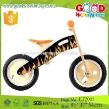 China fábrica de venta directa de madera contrachapada de diseño de madera niños bicicleta