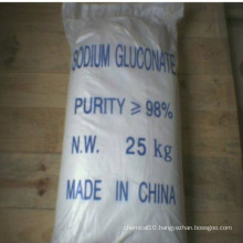 Sodium Gluconate98%Min as Concrete Admixtures