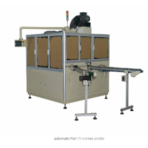 automatic control panel UV screen printing machine