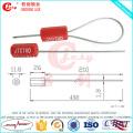Jc-CS007 China fabrica selo de segurança de cabo por atacado com número de série de impressão