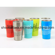 400ml Stainless Steel Double Wall Coffee Cup Sdc-400b