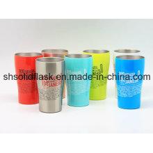 Tasse à café à double paroi en acier inoxydable 400 ml Sdc-400b