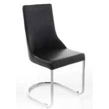 Modern PU Leather Metal Dining Room Chair
