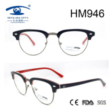 Italy Design German Full Rim Acetate Optical Frame (HM946)