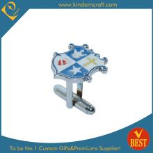 2014 High Quality Custom Logo Printing Metal Cufflink