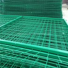PVC-verzinkter Rahmen geschweißter Maschendrahtzaun