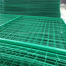 PVC Galvanized Frame Welded Wire Mesh Fence