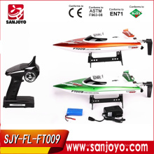 rc tug boats High speed racing boat FT009 hobby model 4CH yacht 30km/h 2.4g rc speed boats for sale (water cooling system)