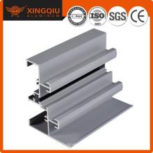 Extrusión de aluminio acabado de aluminio fatory, perfil de aluminio de la aleación de la extrusión de la fuente