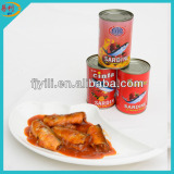 Wholesale canned sardine with easy open lid