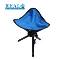 Manufacture high quality outdoor picnic metal chair portable folding camping stool