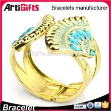 Pulsera de metal de promoción set damas pulsera de jewerly