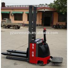 Proveedor de China apilador eléctrico completo, precio de carretilla elevadora eléctrica