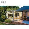 Hot Sale Model American Style Victorian Prefabricated Glass House Veranda Sunroom
