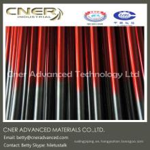 Tubo de fibra de vidrio de alta calidad, varilla de fibra de vidrio