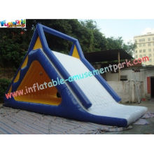 Durable Commercial Grade 0.9mm Pvc Tarpaulin Inflatable Water Slide Toys For Kids