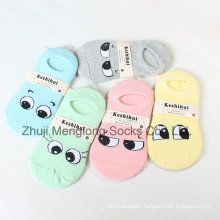 Big Eyes Pattern Girl Cotton Socks