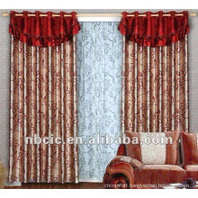 Embroidery Curtain Fabric For 100% Polyester