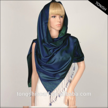 2016 Autumn/Winter shawl hijab Shiny reversi color pure silk scarf shawl for turkey